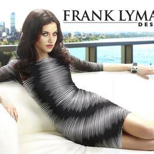 🇨🇦Gorgeous FL black/white knit dress